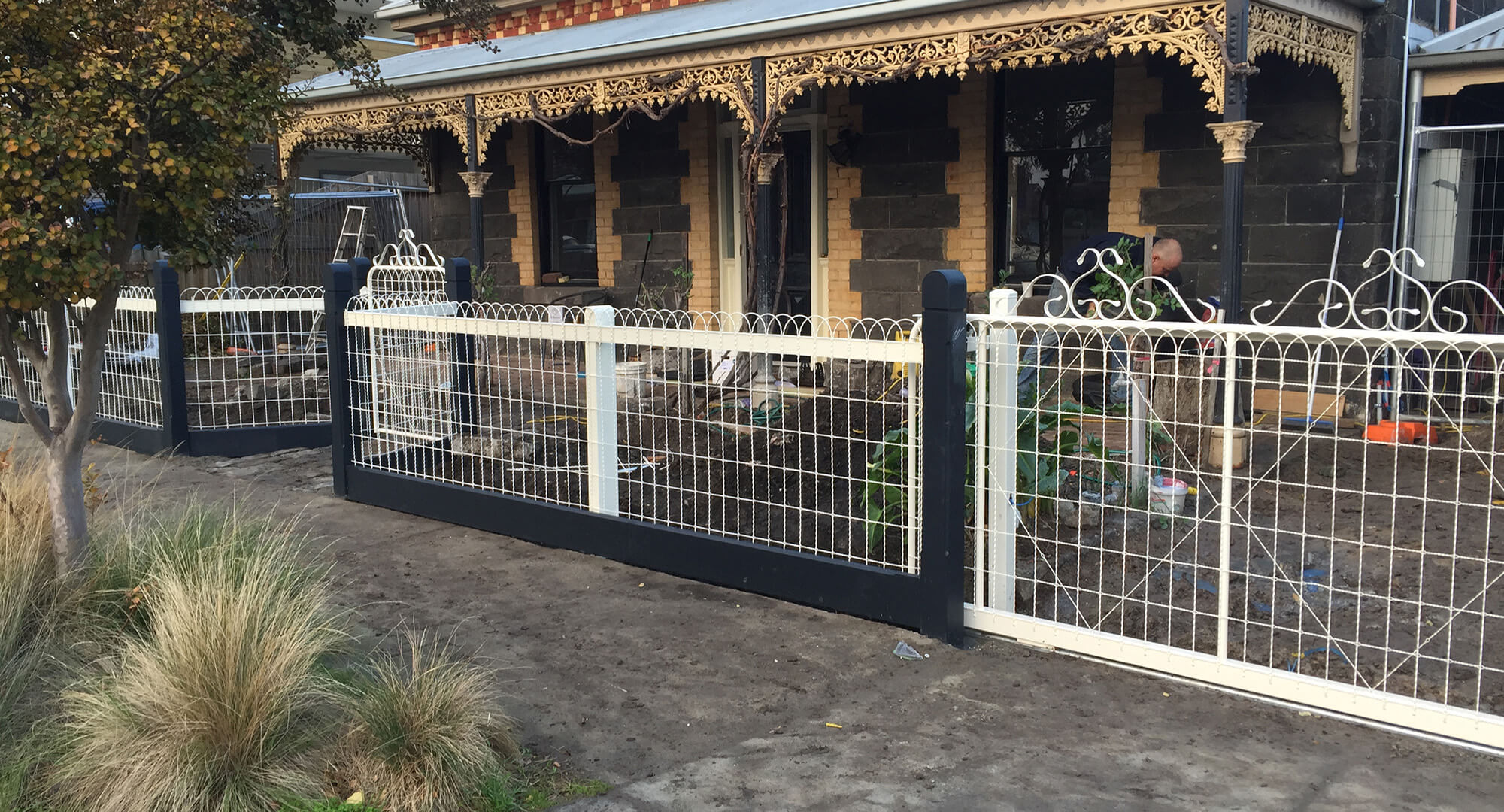 Woven Wire Melbourne Heritage Fencing